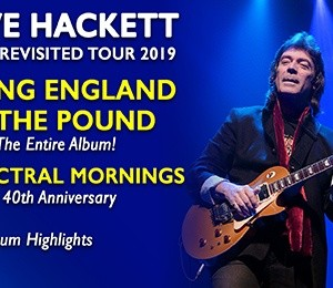 Steve Hackett – Genesis Revisited 2019 at Leas Cliff Hall