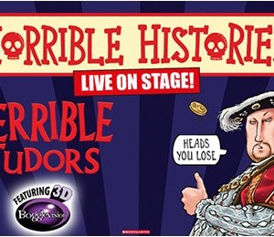 Horrible Histories – Terrible Tudors at New Victoria Theatre