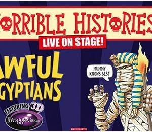 Horrible Histories – Awful Egyptians at New Victoria Theatre