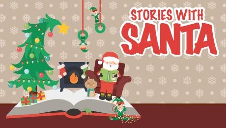 Stories With Santa at Piano Bar