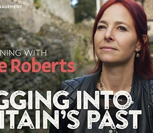 An Evening with Alice Roberts: Digging into Britains Past at Leas Cliff Hall