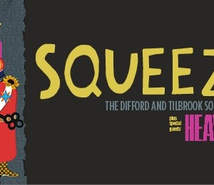 Squeeze Plus Special Guests Heaven 17 at Leas Cliff Hall