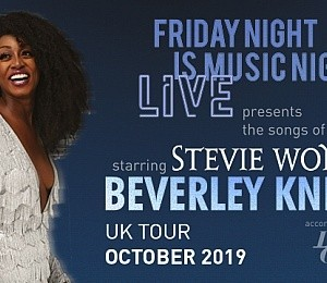 The songs of Stevie Wonder starring Beverley Knight at New Theatre Oxford