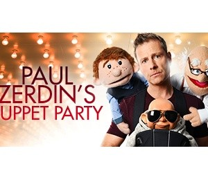 Paul Zerdin's Puppet Party at Leas Cliff Hall