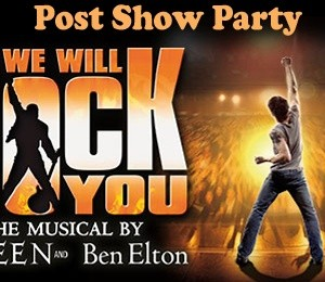 We Will Rock You Post Show Party at Piano Bar, New Theatre Oxford