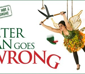 Peter Pan Goes Wrong at Theatre Royal Brighton