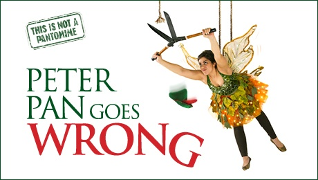Peter Pan Goes Wrong at The Alexandra Theatre, Birmingham