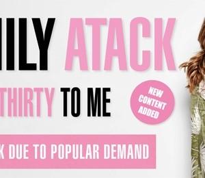 Emily Atack - Talk Thirty To Me at Victoria Hall