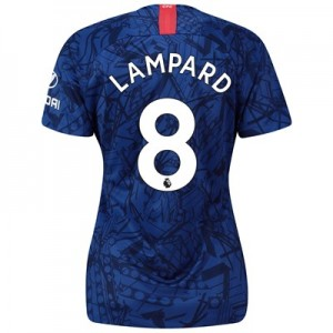 Chelsea Home Stadium Shirt 2019-20 - Womens with Lampard 8 printing