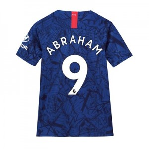 Chelsea Home Stadium Shirt 2019-20 – Kids with Abraham 9 printing