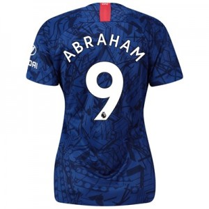 Chelsea Home Stadium Shirt 2019-20 - Womens with Abraham 9 printing