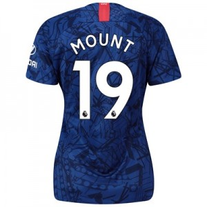 Chelsea Home Stadium Shirt 2019-20 - Womens with Mount 19 printing