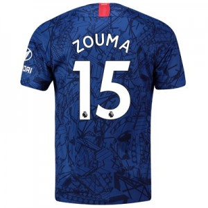 Chelsea Home Stadium Shirt 2019-20 with Zouma  15 printing
