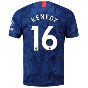Chelsea Home Stadium Shirt 2019-20 with Kenedy 16 printing