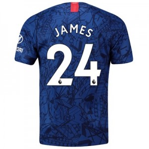 Chelsea Home Stadium Shirt 2019-20 with James 24 printing