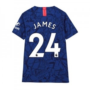 Chelsea Home Vapor Match Shirt 2019-20 - Kids with James 24 printing