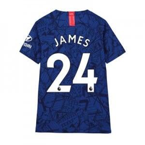 Chelsea Home Vapor Match Shirt 2019-20 – Kids with James 24 printing