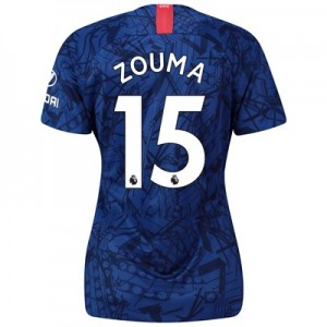 Chelsea Home Stadium Shirt 2019-20 - Womens with Zouma  15 printing
