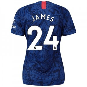 Chelsea Home Stadium Shirt 2019-20 - Womens with James 24 printing