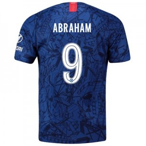 Chelsea Home Cup Stadium Shirt 2019-20 with Abraham 9 printing