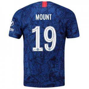 Chelsea Home Cup Stadium Shirt 2019-20 with Mount 19 printing