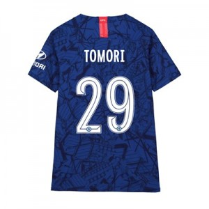 Chelsea Home Cup Vapor Match Shirt 2019-20 - Kids with Tomori 29 printing