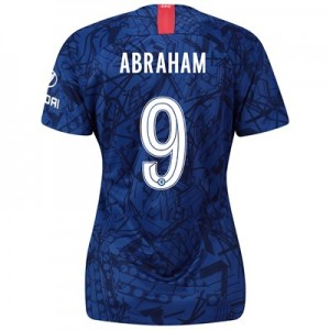 Chelsea Home Cup Stadium Shirt 2019-20 - Womens with Abraham 9 printing