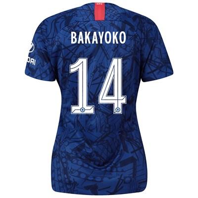 Chelsea Home Cup Stadium Shirt 2019-20 – Womens with Bakayoko  14 printing