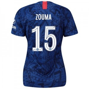 Chelsea Home Cup Stadium Shirt 2019-20 – Womens with Zouma  15 printing