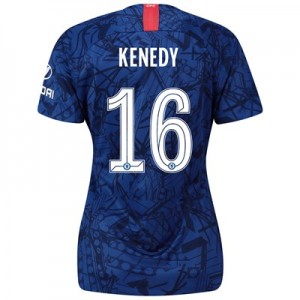 Chelsea Home Cup Stadium Shirt 2019-20 - Womens with Kenedy 16 printing