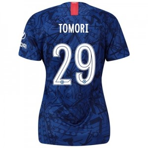 Chelsea Home Cup Stadium Shirt 2019-20 – Womens with Tomori 29 printing