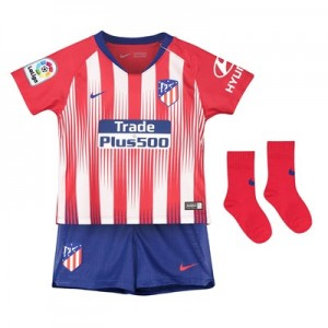 Atlético de Madrid Home Stadium Kit 2018-19- Infants