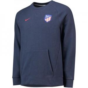 Atlético de Madrid Venue Crew Sweatshirt – Dark Blue