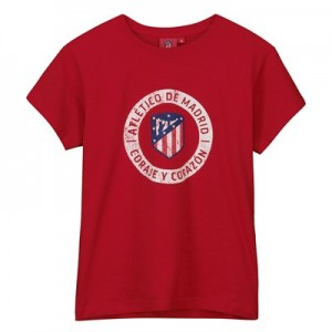 Atlético de Madrid Printed T-Shirt - Red - Boys