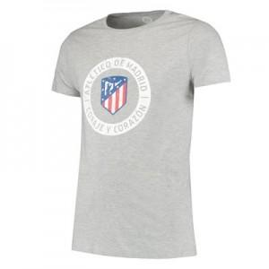 Atlético de Madrid Printed T-Shirt - Grey - Mens