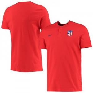Atlético de Madrid Authentic Grand Slam Polo – Red