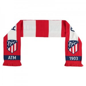 Atlético de Madrid Reversible Bar Scarf – Red/White