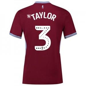 Aston Villa Home Shirt 2018-19 with Taylor 3 printing