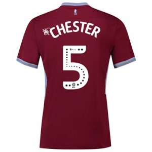 Aston Villa Home Shirt 2018-19 with Chester 5 printing