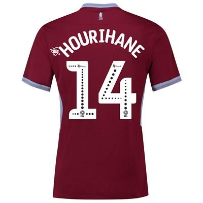Aston Villa Home Shirt 2018-19 with Hourihane 14 printing