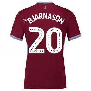 Aston Villa Home Shirt 2018-19 with Bjarnason 20 printing