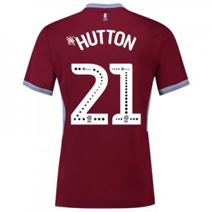 Aston Villa Home Shirt 2018-19 with Hutton 21 printing