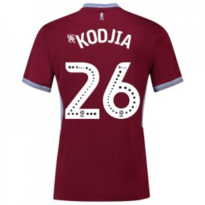 Aston Villa Home Shirt 2018-19 with Kodjia 26 printing