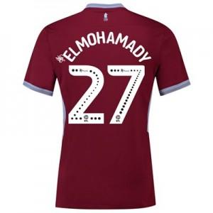 Aston Villa Home Shirt 2018-19 with Elmohamady 27 printing