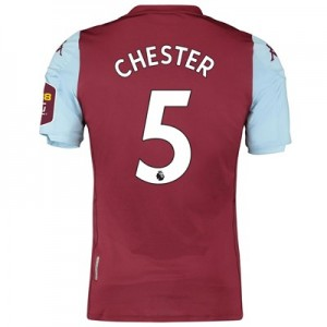 Aston Villa Home Elite Fit Shirt 2019-20 with Chester 5 printing