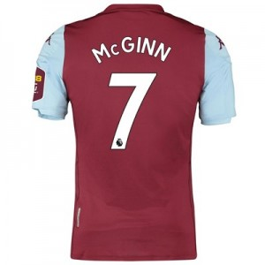 Aston Villa Home Elite Fit Shirt 2019-20 with McGinn 7 printing
