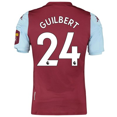 Aston Villa Home Elite Fit Shirt 2019-20 with Guilbert 24 printing