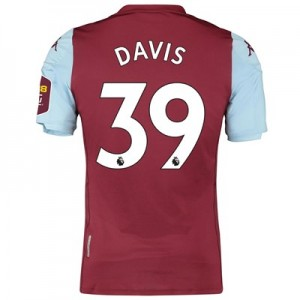 Aston Villa Home Elite Fit Shirt 2019-20 with Davis 39 printing