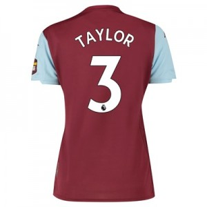 Aston Villa Home Shirt 2019-20 – Womens with Taylor 3 printing