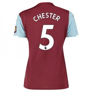 Aston Villa Home Shirt 2019-20 – Womens with Chester 5 printing